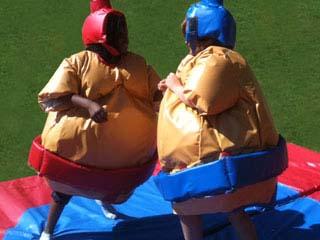 combat de sumo enfants
